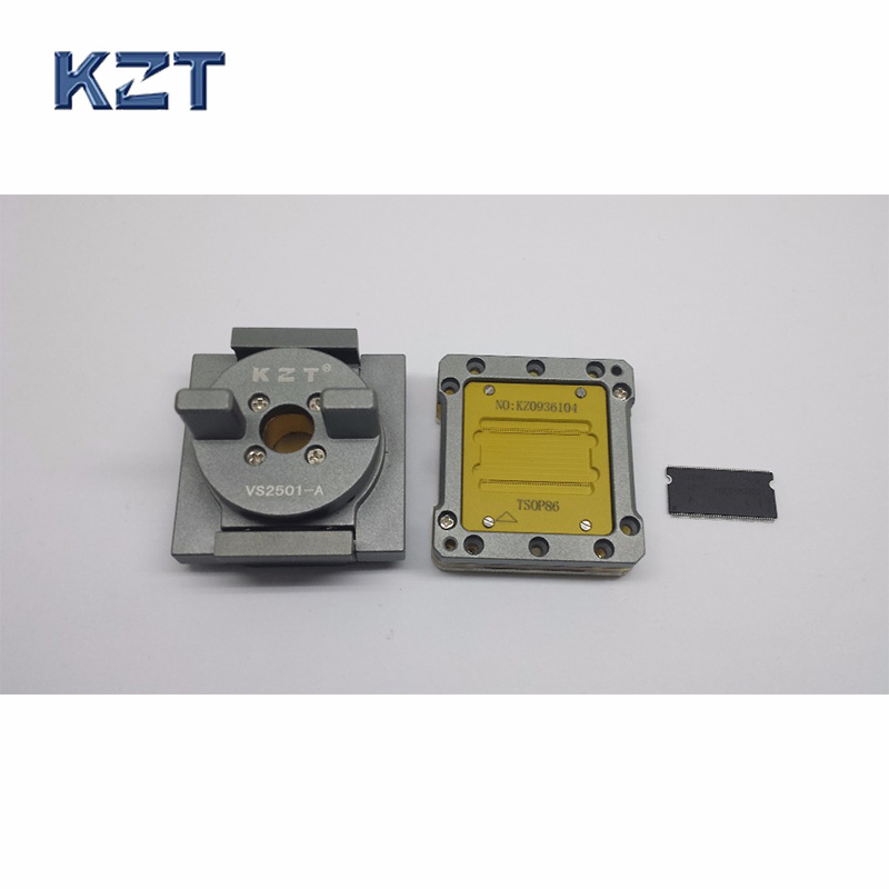 TSOP86 Chip Test Socket TSOP86 IC Test Socket Double Buckle Flash Programmer Adapter Conversion Block free shipping program ch2015 usb high speed programmer 300mil fp16 to dip8 socket eeorom spi flash data flash avr mcu programmer