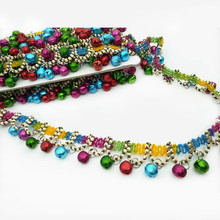 2 meters 3CM Clothing accessories, DIY head ornaments, accessories Small bell lace tassel