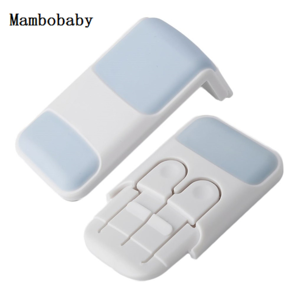Mambobaby Baby Drawer Lock for Children Safety Locks Todder Door Buckle Prevent Open Drawers Cabinets Anti Pinch Hand Protect ...