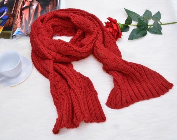 Fashion Winter Wool Hat Scarf Cute Knit Crochet Beanies Cap Hats