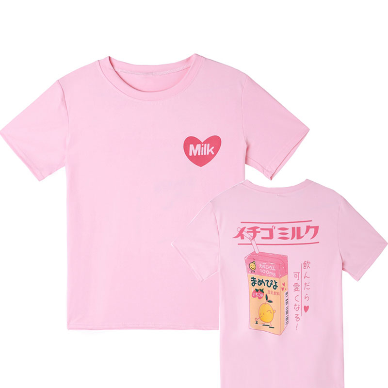 Short-Sleeve I Love Math Shirts for Kids Kawaii Blouse Clothes with Falbala 2-6T