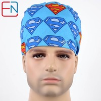 Hennar Unisex Medical Caps Surgical Scrub Caps With Sweatband 100 Cotton VIP Customer ORDER ONLY