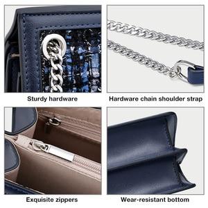 Image 4 - FOXER Brand Designer Women Shoulder Bags Female Flip Bag New Fashion Crossbody Bag Chain Strap Ladies Small Messenger Bags