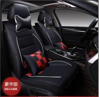 hot sales Luxury Leather PU leather Car Seat Covers 5 Seat Cover For BMW 3/4/5/7 Series GT M3 X1 X3 X4 X5 X6 Z4 Accessories