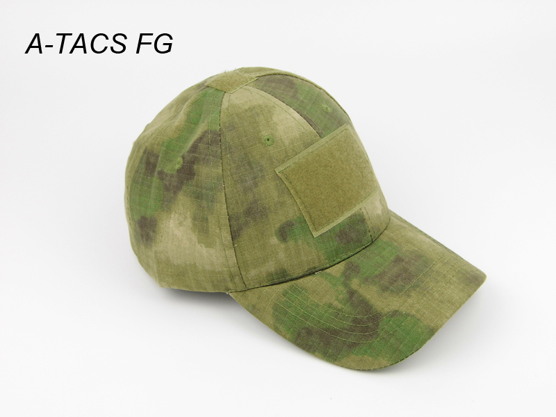 A-TACS FG AU Wald Marpat Mandrake Multicam Tropic Schwarz Ariden Tactical Military Baseball Caps Camouflage Hut (SKU12050508)