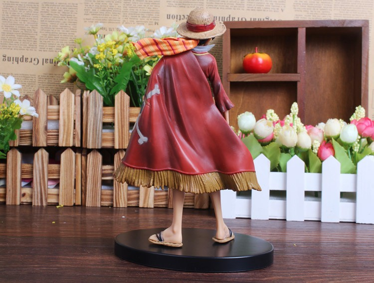 One Piece Luffy Action Figure Backview