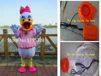 Nieuwe daisy mascotte kostuum en Donald mascot kostuum volwassen kleding partij snelle verzending