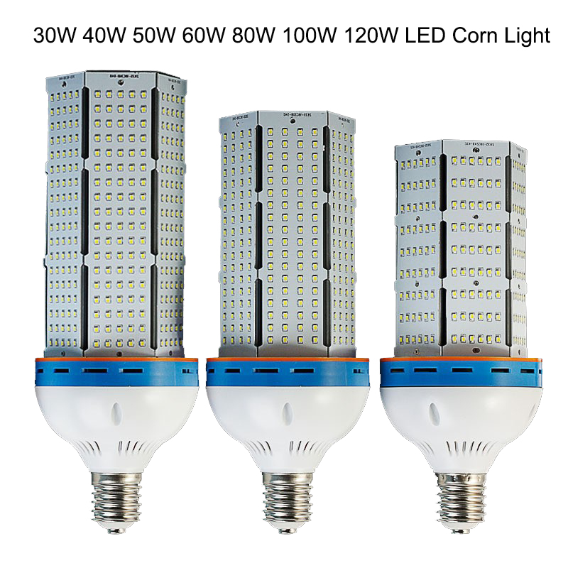 6pcs/lot E40 E27 120W LED Warehouse Lamps light led corn light bulbs,led high bay light,led industrial light dhl free shipping energy efficient 7w e27 3014smd 72led corn bulbs led lamps