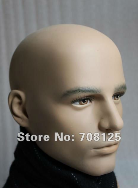 Realistische Männliche Schaufensterpuppe Kopf Für Perücke Und Sonnenbrillen-in Schaufensterpuppen aus Heim und Garten bei  Gruppe 3