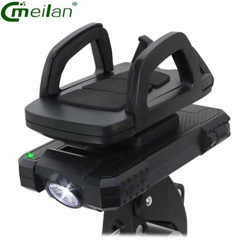 Meilan велосипед света 5400 мАч USB Запасные Аккумуляторы для телефонов Перезаряжаемые Велосипедный спорт красный свет лампы светодиодные Велос…