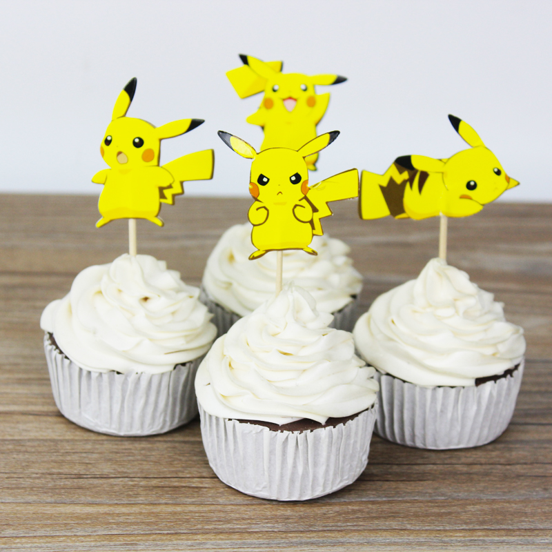 Pikachu Cupcake Toppers Cake Decorating Supplies Online