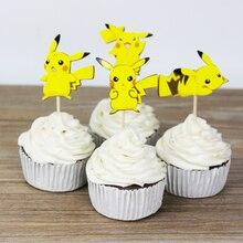 Pikachu Cupcake Toppers