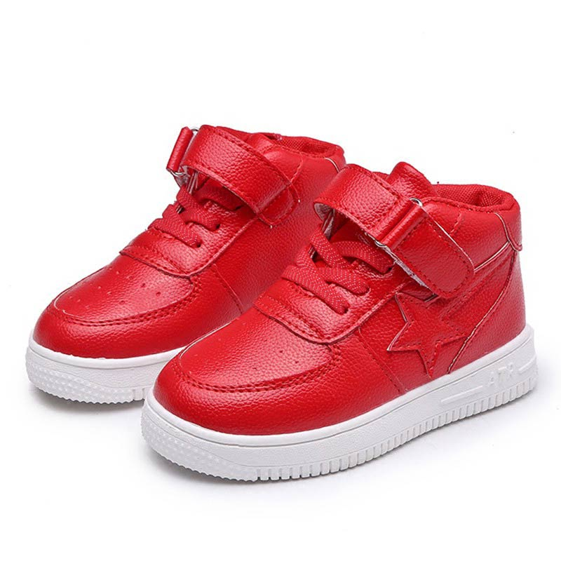 2018 Spring Autumn Children Casual Shoes Boys Girls Star Labeling Sport Shoes Kids Student School Skate Shoes #23
