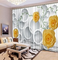 High Quality 3D Printing Curtains Blackout Cortians Full Light Shading Bedroom Livng Room Curtains CL D001
