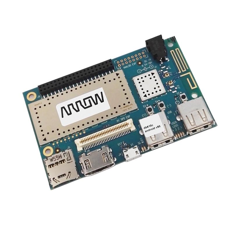 DRAGONBOARD 410C 1200MHz CPU 1GB RAM 8GB eMMC Flash Android 5.1/Linux based on Debian/Win10 IoT Core недорого