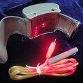 CE Fisioterapia saúde 650nm laser light/wrist Diode low level laser therapy LLLT para o tratamento de hipertensão diabetes