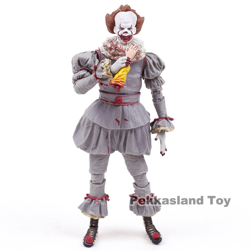 Image 5 - NECA Stephen Kings It Pennywise PVC Action Figure Collectible Model ToyAction & Toy Figures   -