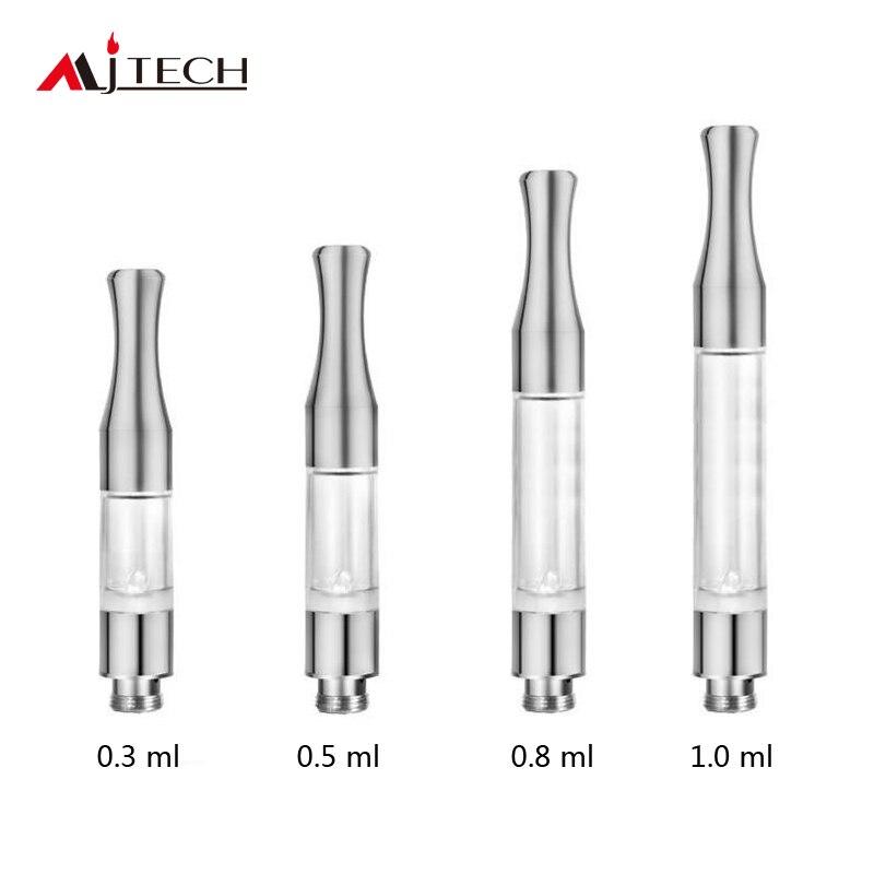 100pcs/lot Atomizer 0.3ml/0.5ml/0.8ml/1ml Refillable G2 Cartridge Ce3 Disposable Vaporizer 510 O Pen Ce3 Thick Oil Vape