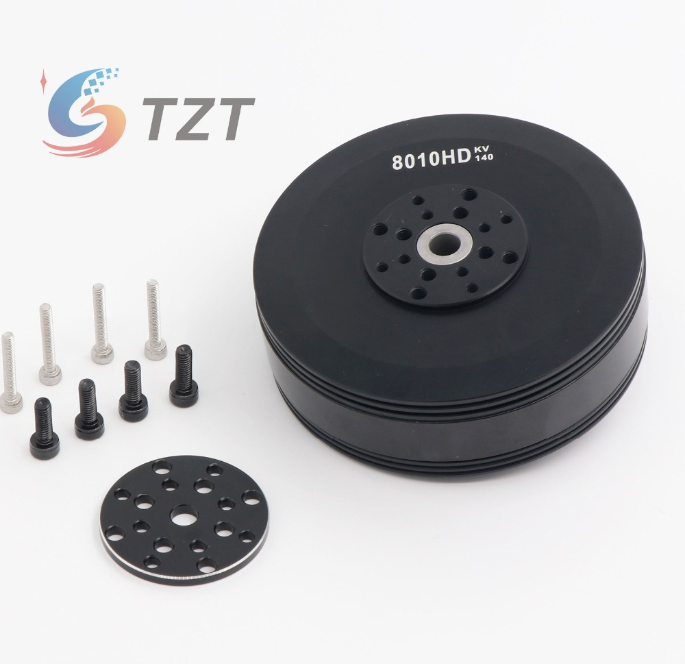 2018 140KV Brushless Motor For RC RC Multirotor Quadcopter Hexa Drone Plant Protection Drone 8010HD image