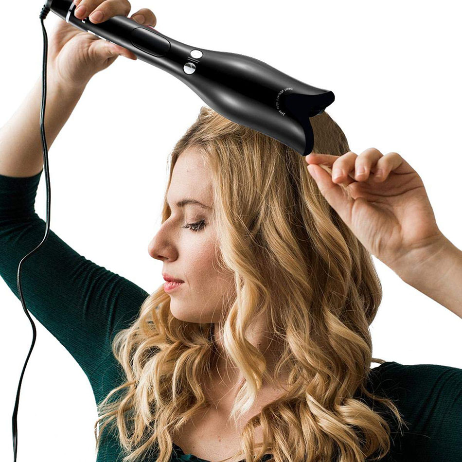 prancha de cabelo modelador de cabelo chapinha dupla profissional hair curler curling iron enrolar cabelo cachos modelador de cachos modelador de cabelo cachos prancha de cabelo rotativa chapinha rotativa curling hair