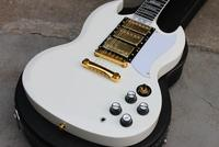 Best Price Custom Shop SG Custom Reissue VOS Electric Guitar Classic White Free Shipping