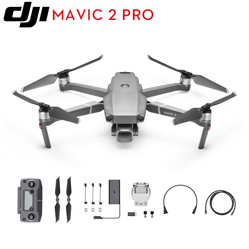 Original Mavic de DJI 2 Pro/Zoom plegable FPV Drone con 4K Hasselblad/Zoom Cámara RC Quadcopter con mavic 2 volar más Combo Kit-in Drones de la cámara from Productos electrónicos    1