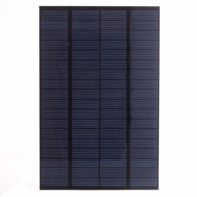 SUNWALK 4.2W 18V Polycrystalline Solar Panel Cell PET Mini Solar Panel Module for DIY Charger DC Battery System 200*130mm