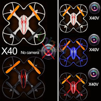 Free Shipping news X40 X40V RC Quadcopter Remote Control Helicopter Quadrocopter UFO Mini Drone As X5C for kids as gift