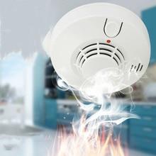 цены на Fire smoke alarm home fire sensor wireless independent smoke detector  в интернет-магазинах