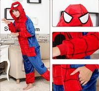 Örümcek-Adam erkekler kadınlar için Pooh pooh kombinezonlar Cadılar Bayramı Kostüm kostümleri Kigurumi Pijama Hayvan Cosplay Kıyafet Yetişkin Anima
