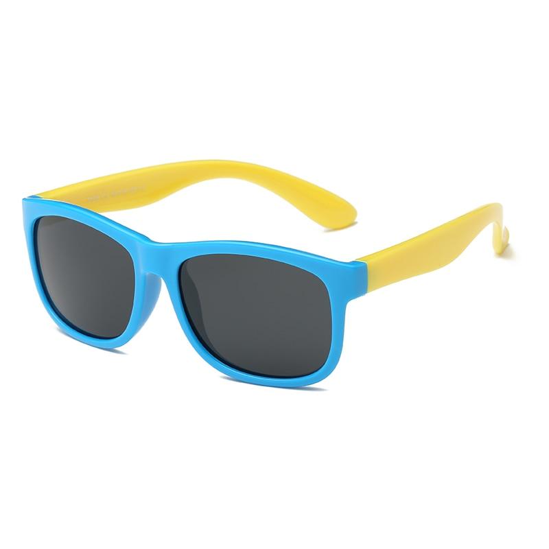 Kids Sunglasses Polarized Child Glasses Sport Silicon Children Eyeglasses Flexible Rubber Girls Boys UV400 Sun Glasses