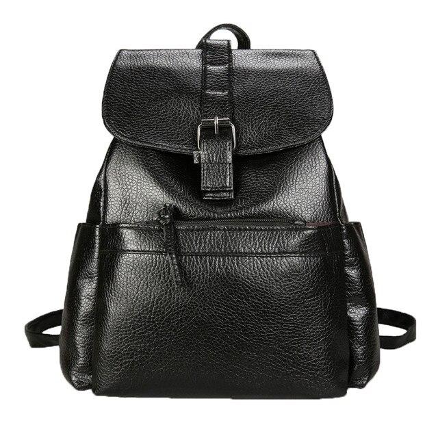 e02b918bdd Woman Backpack Ladies Shoulder Bag Mochila Feminina For Teenage Girls  College Students Vintage Fashion Traval Backpacks Gift New