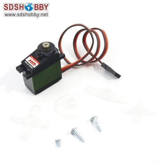 ФОТО power hd digital servo 3.9kg 2216mg w/metal gear and aluminum case for 450 helicopter swash plate (replace 65mg\410m\3156)