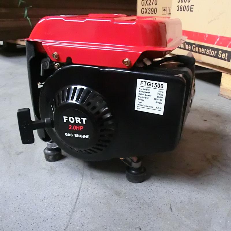 Бензиновый генератор 650 220 50