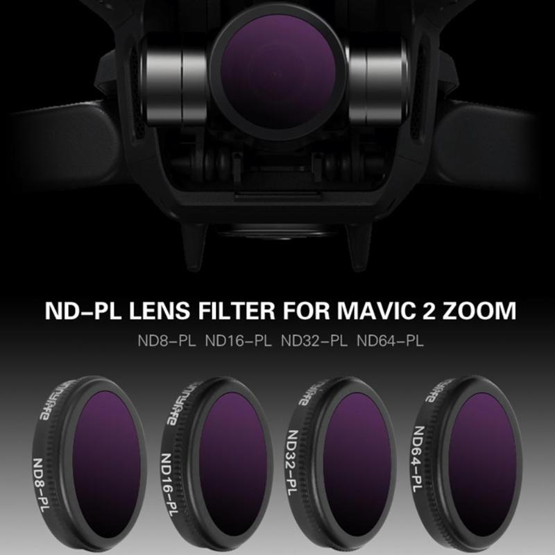 4 in 1 Varied Sunnylife ND-PL Camera Lens Filter Set for DJI MAVIC 2 Zoom Drone Accessory Camera Photo Lens Accessories 5