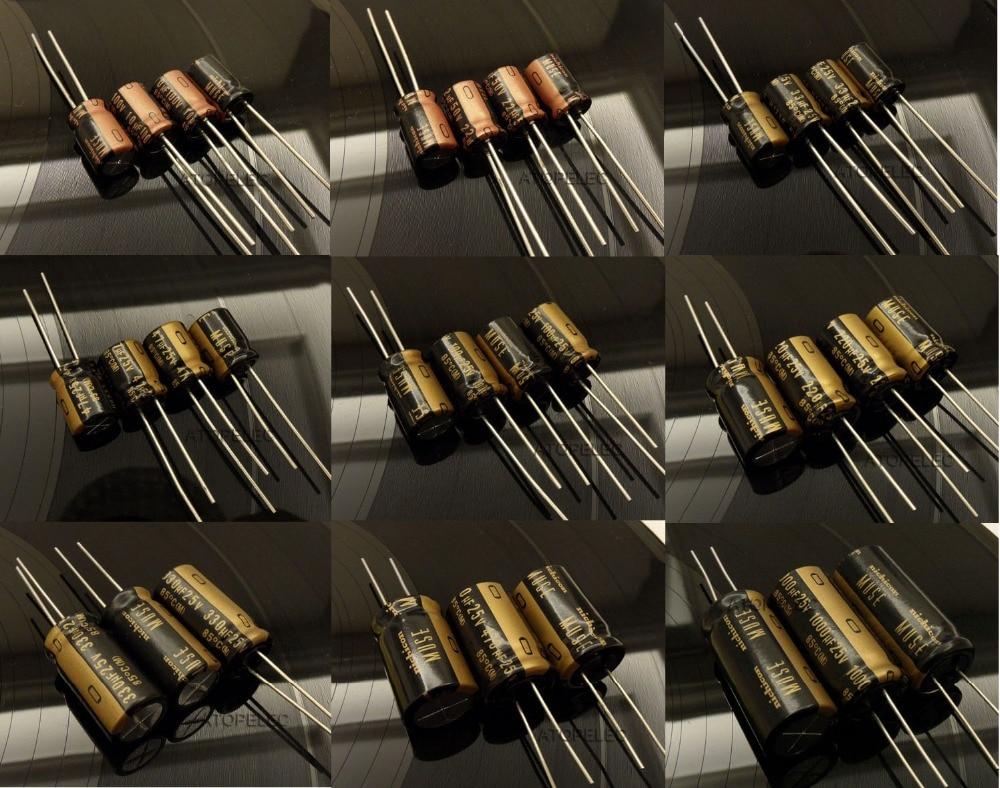 6 pcs Nichicon KA Series 16v 47uf Audio Grade