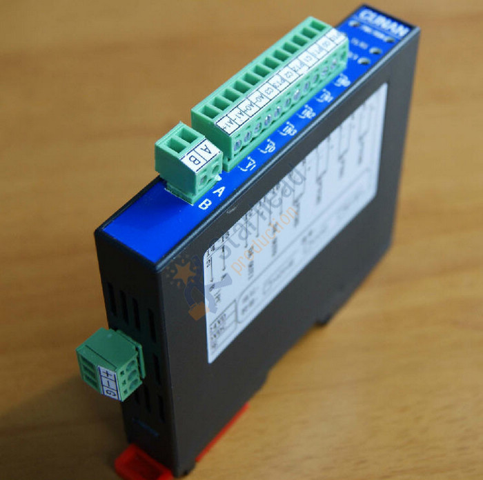 Isolated 4-Channel Pt100 Input Thermocouple Temperature Module RS485 Modbus, 2 Channel Transistor Or Analog Output Optional