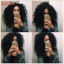 Top Quality Short Human Hair Wigs Kinky Curly Full Lace Wigs Brazilian Hair Glueless Full Lace Short Kinky Curly Virgin Hair Wig