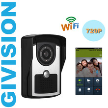 Wireless Video font b Door b font Phone home Intercom system 720P HD 1 0MP Outdoor