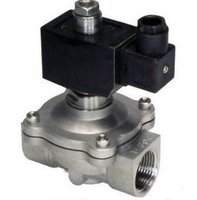 12V 1 NPT NC 2 Way SS304 Viton Seal Solenoid Valve Water 2S250 25 V D With CKD Square Coils