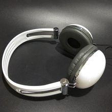 Fashion Men Women Ver-Ear Headset Teens DJ Headphones 3.5mm Wired Game Earphones Supports MP3/MP4/iPhone/PC