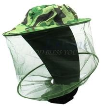 Free Shipping Fishing Caps 32 x 21 5cm Midge Mosquito Insect Hat Bug Mesh Head Net