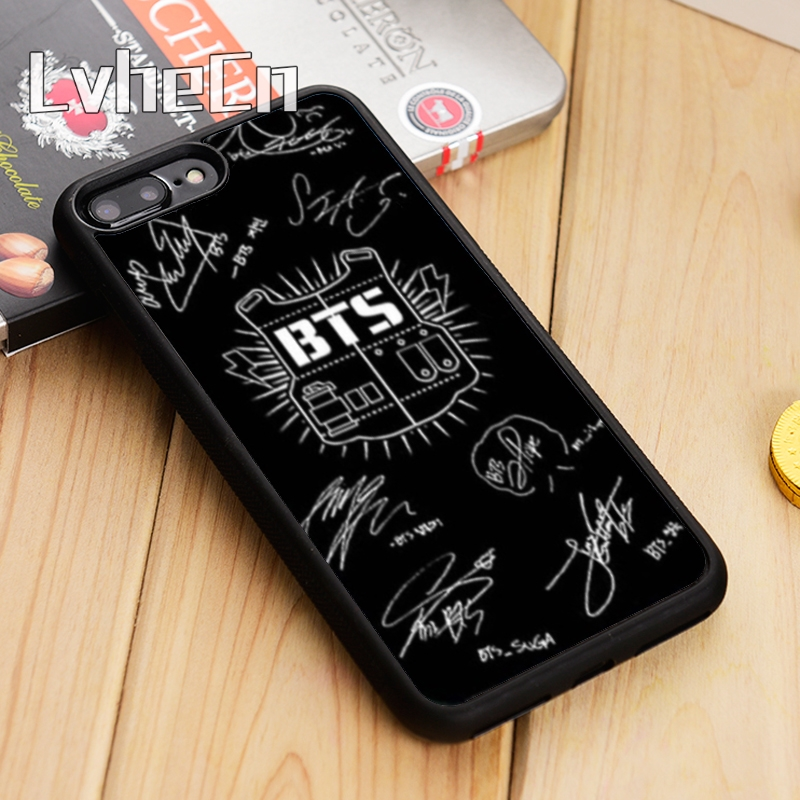 Cellphones & Telecommunications Reasonable Lvhecn Bts Bangtan Boys Phone Case Cover For Iphone 4 5 5s Se 5c 6 6s 7 8 10 X Samsung Galaxy S5 S6 S7 Edge S8 S9 Plus Note 8 Always Buy Good Fitted Cases