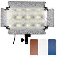 Neewer 500 светодиодный Аксессуары для фотостудий Освещение Панель диффузор 2 Цвет Фильтры (оранжевый и синий) и 4 диммер для Canon Nikon Pentax