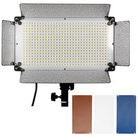Neewer 500 LED Photo Studio Lighting Panel Diffuser 2 Color Filters(Orange and Blue) and 4 Dimmer Switch for Canon Nikon Pentax