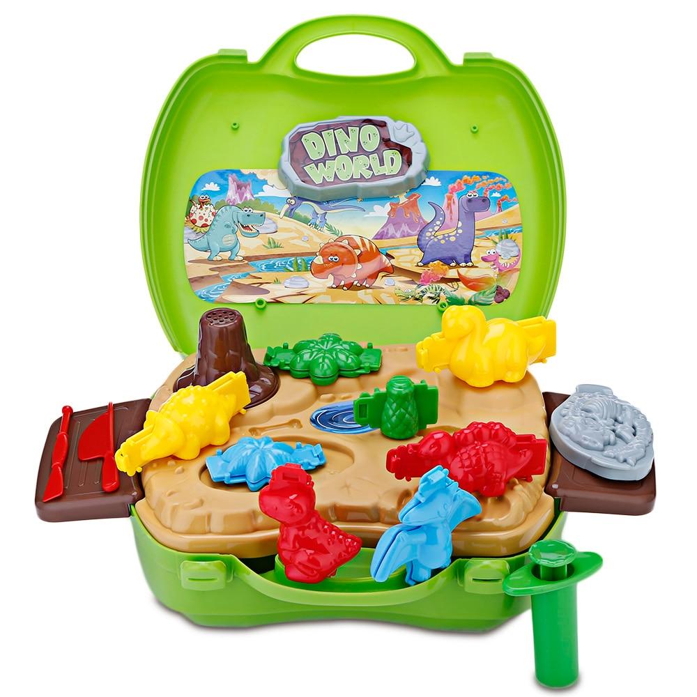 91aba32aa BOWA juguete maleta Kids Play Dough dinosaurio desarrollar inteligencia  portátil caso mantiene todo en un lugar Juguetes en Muebles de juguete de  Juguetes y ...