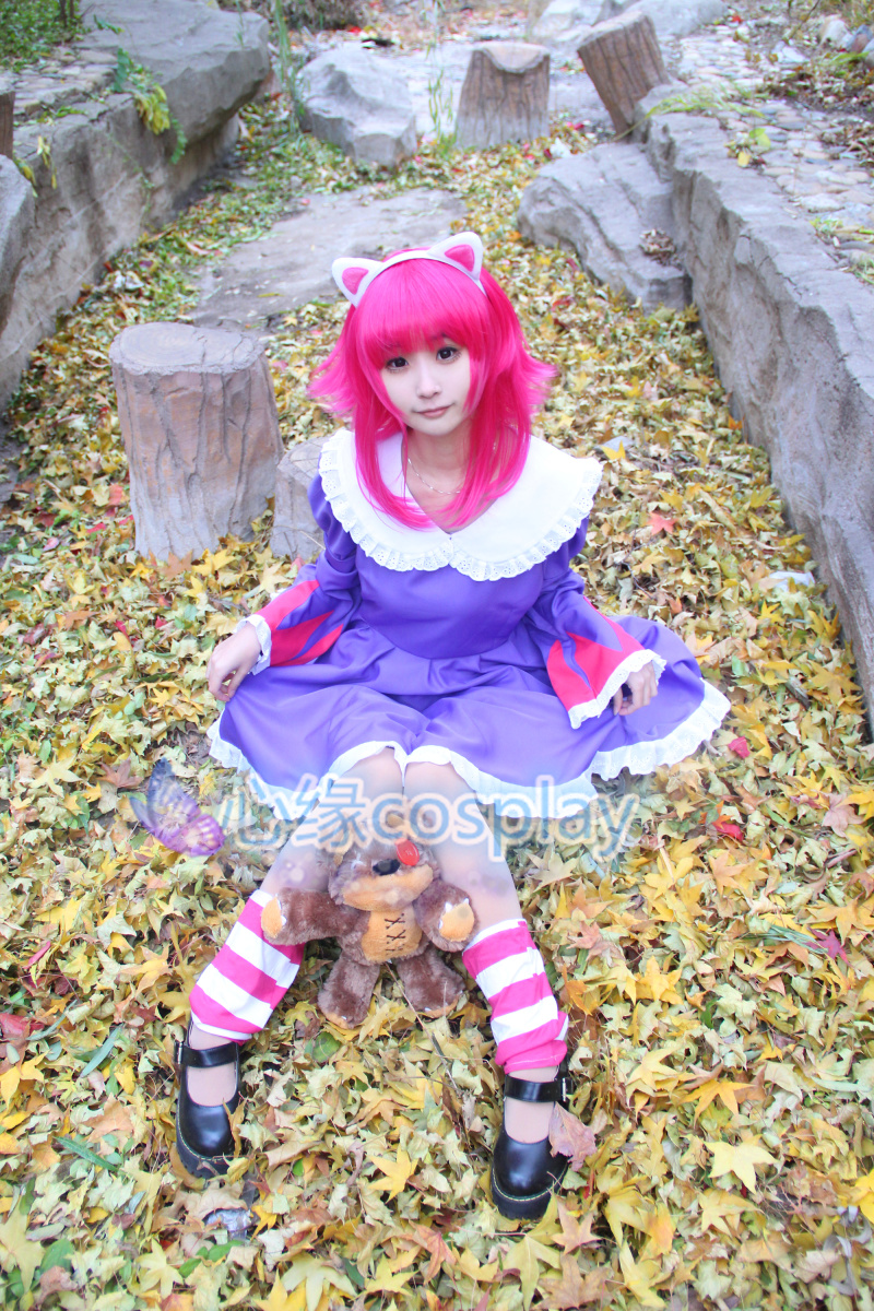 Annie Cosplay Costumes Game LOL Carnival Costumes For Girls Women (Can Be Customized)