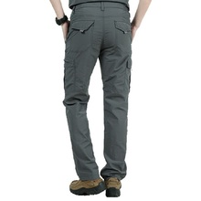 Quick Dry Casual Pants Men Summer Army Military thin Trousers Mens Tactical Cargo Pants Male lightweight Grey Navy Blue Green