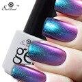 Saviland 1 unids 3D Colorida Camaleónica Gel Esmalte de Uñas 24 Color de Gel UV Soak Off Gel UV/LED Vernis Herramienta de Uñas permanente