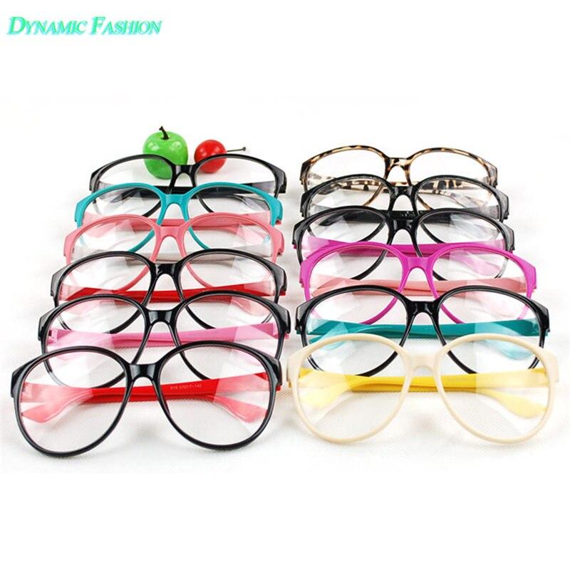 Girl Retro Eyewear Frames Nerd Glasses Women Eyeglasses ...
